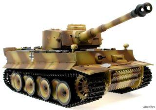 HENGLONG) TaiGen Advanced Full Metal RC Tank   Tiger Camo