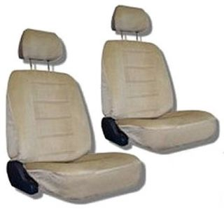 Tan Car Auto Truck Seat Covers w Head Rest Covers 5