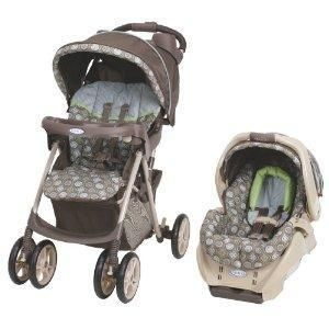 Graco 1758540 Spree Baby Car Seat Stroller Travel System Barcelona