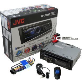 JVC KD S88BT Car Stereo Receiver CD  WMA with Bluetooth Front USB