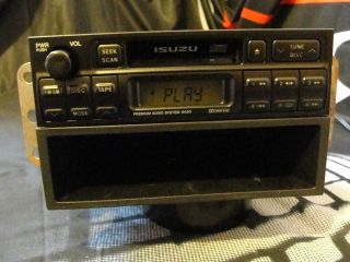Isuzu Rodeo Amigo Oem Cassette Am Fm Car Stereo Radio 121001 94500101