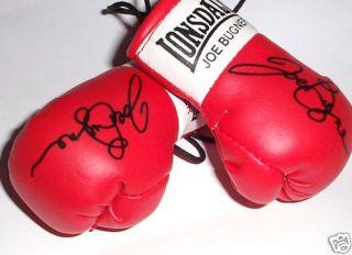Autographed Mini Boxing Gloves Joe Bugner