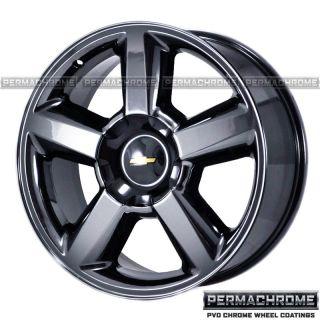 Chevy Truck 1500 Tahoe Black Chrome Wheels Exchange