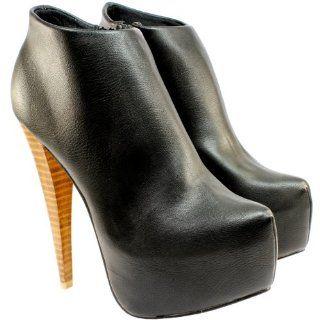 Damen Schuhe Stiefeletten High Stiletto Heel Ankle Shoe Boots