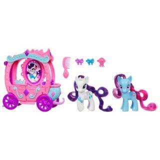 Pequeño Pony 261361480   Figura y carroza de Rarity:
