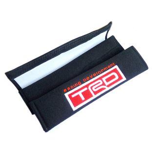 Car/Truck Embroidered Seat Belt Shoulder Cover Pads for TRD(1389)