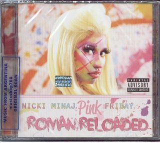 Nicki Minaj Pink Friday Roman Reloaded SEALED CD New 2012