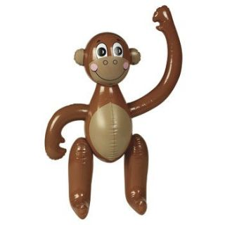 Inflate MONKEY LUAU POOL Birthday PARTY DECORATIONS Safari Jungle Zoo