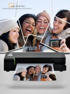 Easy Feed One Touch Photo Scanner to Memory Card or PC