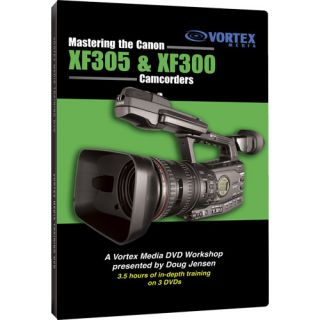 Canon XF305 XF300 Camcorder Training DVD Set Tutorial