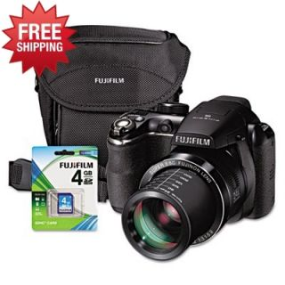 Fujifilm FinePix S4200 14 0 MP Digital Camera Kit Includes Case 4GB