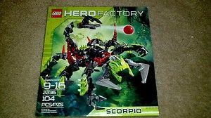 2011 Lego Hero Factory SCORPIO Set #2236 Scorpion NEW IN BOX Bionicle