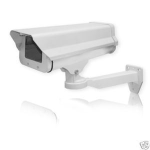 CCTV Security Camera Outdoor Housing with Mount Metal