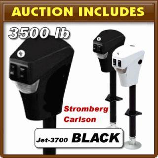 Stromberg Carlson Electric Power Black 3500 Lift Trailer Tongue Jack F