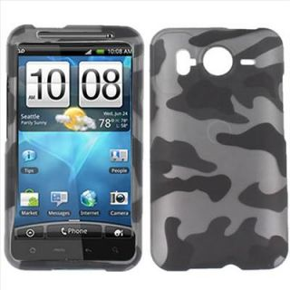 Army Camo Hard Case Cover HTC Inspire 4G at T Accessory