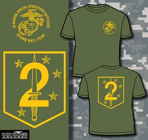Corps 2nd Msob Marine Special Operations Battalion Camp Lejeune