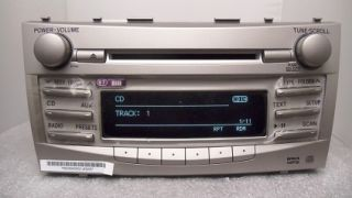 New 07 11 Toyota Camry Radio Stereo Receiver  CD Player Bluetooth