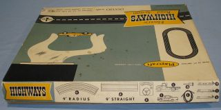 Electric Road System Slot Car Racing Track Set #1 Box Lid Top Panel