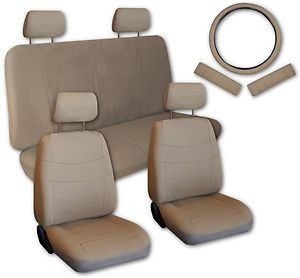 Faux Leather Next Generation Car Seat Covers Free Accessories V