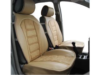 Pair of Front Car Seat Cover Cushion Compatible with Toyota 208 TN