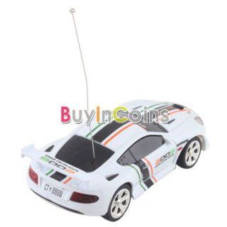 Mini Bullet Can RC Radio Remote Control Micro Racing Car Vehicles Toy