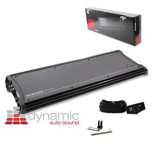 KICKER 11ZX2500 1 CAR MONOBLOCK SUBWOOFER AMPLIFIER 2 500 WATT ZX2500