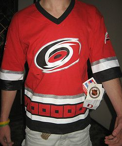 Carolina Hurricanes NHL Hockey Jersey Shirt Size Large 14 16 Youth