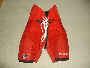Carolina Hurricanes/Hartford Whalers NHL Reebok Hockey Pants  Large 34