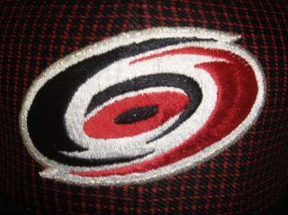 NHL Red & Black Carolina Hurricanes Snapback Cap / Hat