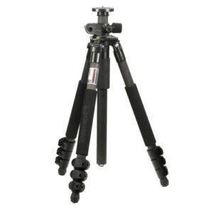 Giottos MTL 8350B 4 Section Carbon Fiber Tripod 4715412032858