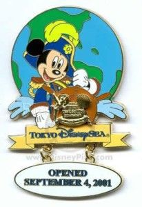 Captain Mickey Tokyo Disney Seas Opening Day Dave Smith Disney Le Pin