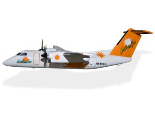 De Havilland Dash 8 Caribbean Sun Airlines BLANK 2