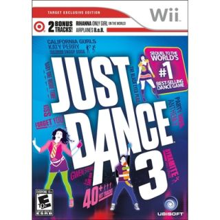 Target Exclusive Rihanna Edition Just Dance 3 for the Nintendo Wii