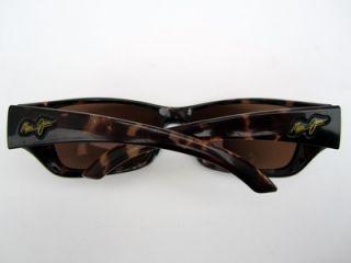 Maui Jim Canoes Sunglasses Sun Glasses Tortise Bronze Polarized Lenses