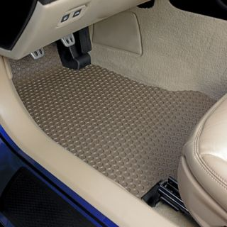 Subaru Legacy All Weather Tan Floor Mats Front and Rear Sedan 00 04