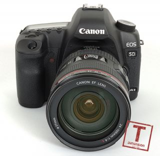 U0368 Canon EOS 5D Mark II 2 24 105mm Lens Kit Gift 1wt