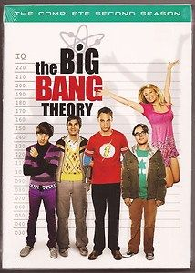 The Big Bang Theory DVD Complete Second Season 2 NEW US Release 4 Disc