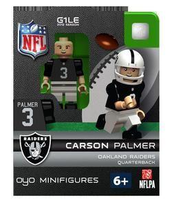 Carson Palmer OYO Mini Fig Figure Lego Compatible Oakland Raiders NIP
