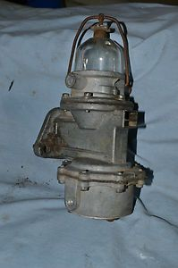 Carter Glass Fuel Pump 1938 1942 Chrysler Desoto Dodge Plymouth