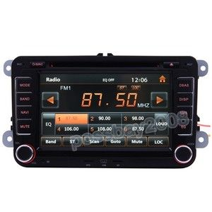 03 08 VW Golf MK5 V Car GPS Navigation Bluetooth iPod Radio USB MP3 TV