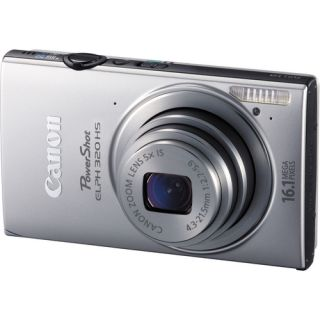 Canon PowerShot ELPH 320 HS Digital Camera Silver Brand New USA