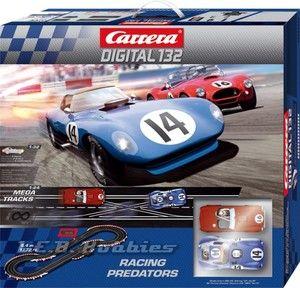 Carrera 30156 Digital 132 Racing Predators Slot Car Race Set