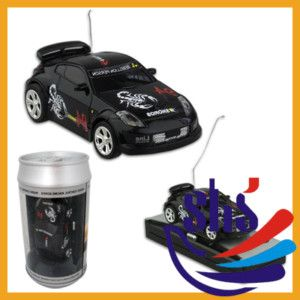 New Coke Can Mini RC Radio Remote Control Racing Car