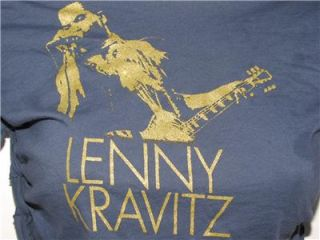 Up Stained Sexy Blue Long Sleeve Lenny Kravitz Backless T Shirt