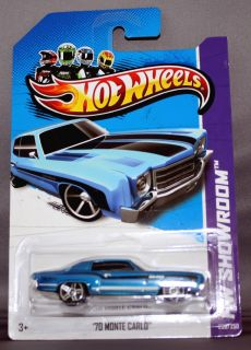 70 monte carlo hot wheels latest release scale 1 64 made by mattel