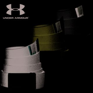 2012 Under Armour Mens Canvas Webbing Golf Belt One Size