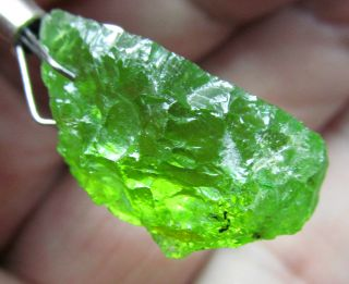 21 20ct Arizona San Carlos Bright Apple Green Peridot Facet Rough Gem