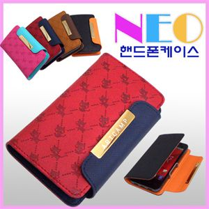 S2 i9100 Leather Diary Skin Case Cover Card Wallet Neo Cat