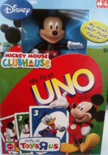 Mickey Mouse Clubhouse My First Uno King Size Card Game