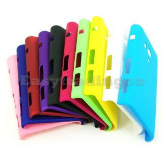 10x Cover Case Sony Xperia Acro s LT26W Aqua Blue Black Green Pink